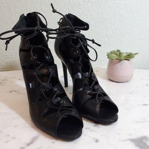 SCHUTZ gladiator lace up heels